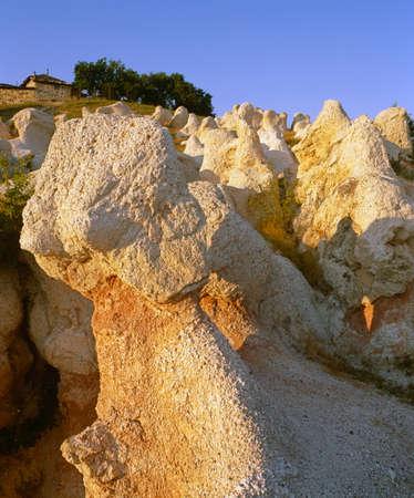 travelled: rocky phenomenon near Kurdjali, Bulgaria, Balkans, South Rhodopi, European, Europe, EU