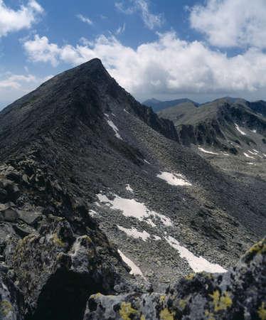 balkans: Bunderishki peak, Pirin mountain, Bulgaria, Balkans