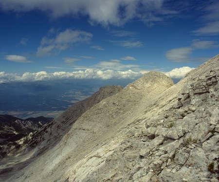 balkans: Pirin mountain, marble region, a ridge named Koncheto, Bulgaria, Balkans