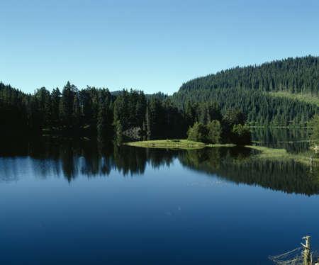 balkans: Rhodopi mountain, Beglik lake, Bulgaria, Balkans