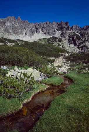 named: Pirin mountain, a ridge named Strajite