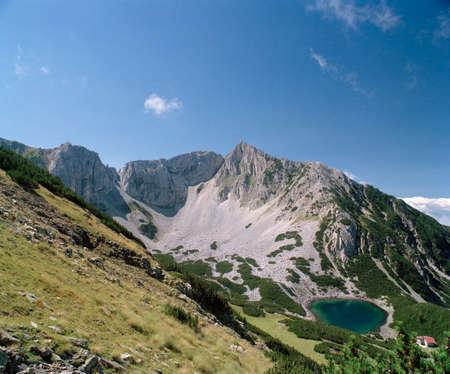 travelled: Sinanitza Peak, Pirin mountain, Sinanitza Lake