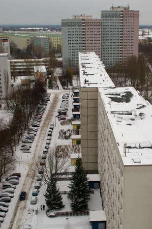 marzahn: Housing estate in Berlin