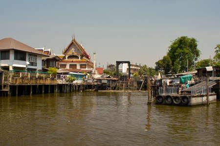 slums: Klong Bangkok