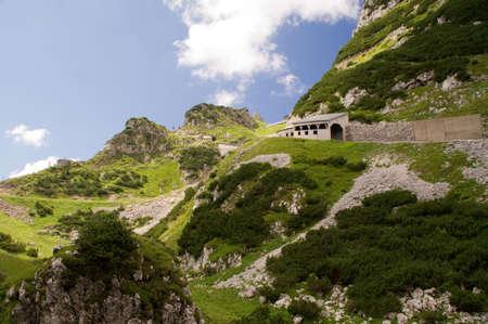 hillwalking: Peak of Wendelstein Stock Photo