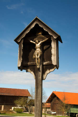 inri: Inri wooden cross