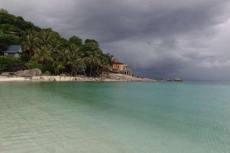 koh tao: Storm on the island of Koh Tao