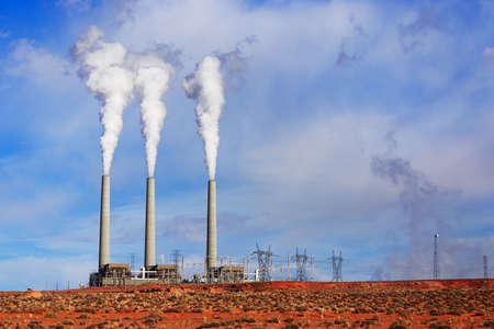 generating station: Navajo Power Generating Station, Page AZ. Salt River Project-Navajo Dzhenerating Station. Navajo Generating Station is a coal-fired steam plant near Page, Arizona.