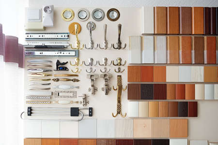 wood panel: Furniture mebel fittings recessed fixtures hooks