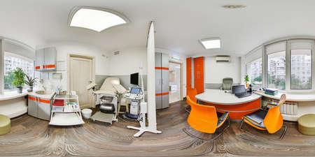 Panorama 360 de una institución médica