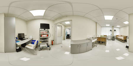 360 panorama of a medical institution
