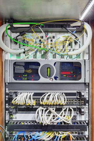 Ob van control panels racks Zdjęcie Seryjne