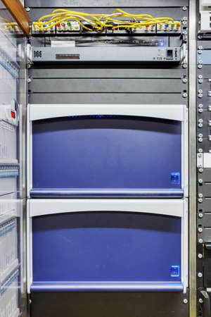 Obvan control panels racks
