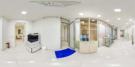 Virtual panoramas 360 clinical complex with laboratories