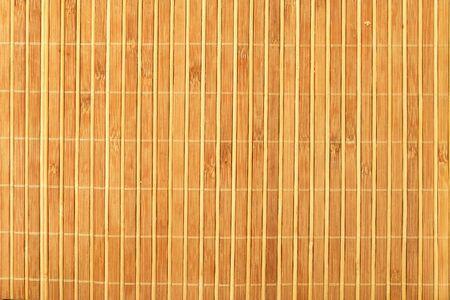 Bamboo stick straw mat texture background. Standard-Bild