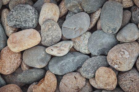Stone texture closeup different shapes of stones 版權商用圖片