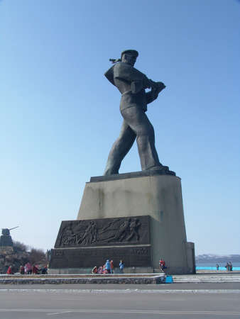 defenders: Monument to the heroes of Severomorsk - the defenders of the Arctic Russia, Severomorsk