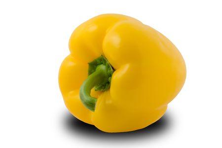 Yellow paprika isolated  Stock Photo - 1860588