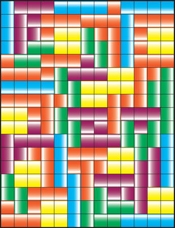 tetris: Tetris game illustration
