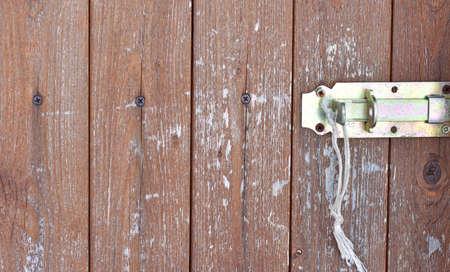 Simple brown wood door texture