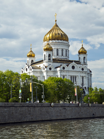 saviour: Cathedral of Christ the Saviour. Moscow, Russia.