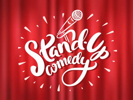 microphone stand: Stand up comedy.