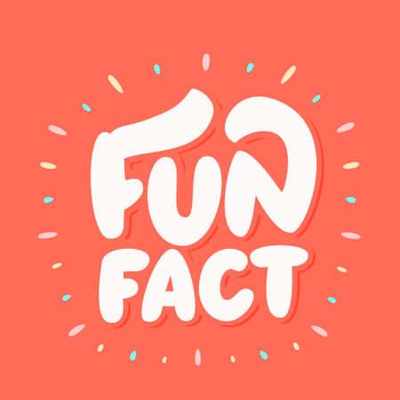 Fun fact. Vector lettering.