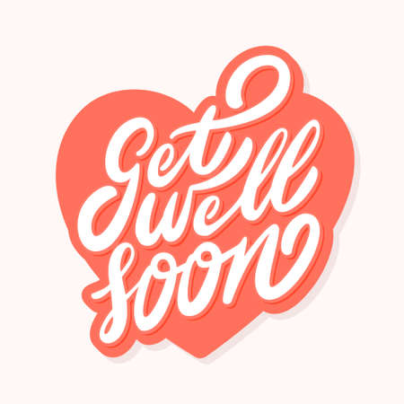 Get well soon card.