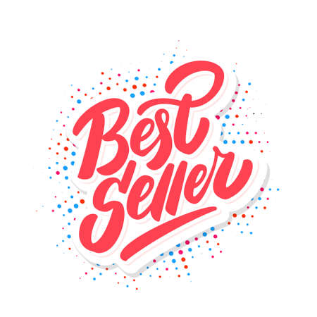 Best seller. Vector lettering icon. Vector illustration.
