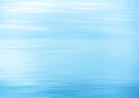 Still water. Calm sea vector background.