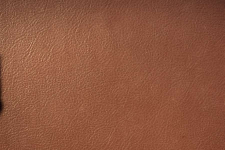 Close up of brown leather background or texture. Foto de archivo