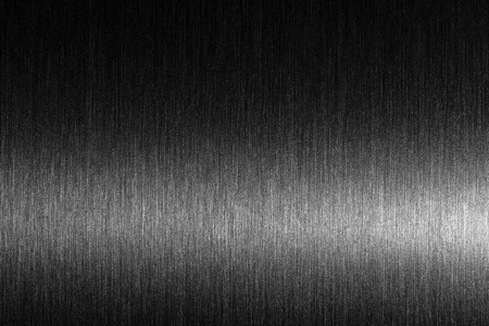 Hard metal. Brushed metal with a solid reflection. Texture
