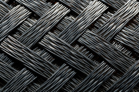 Macro view of silverfiber
