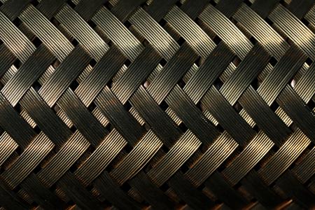 Macro view of gold fiber Reklamní fotografie