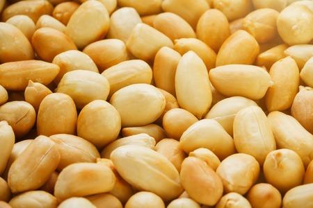 Peanut texture. food background of peanuts beans Archivio Fotografico