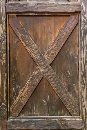Wooden door lock, vintage wooden door, Brown wooden door, texture, background