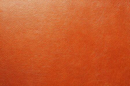 Braune Ledertextur als abstrakter Hintergrund, schöne Mustertextur Vollbild, Ansicht von oben