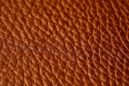 Brown leather texture as an abstract background, beautiful pattern texture Full screen, top view