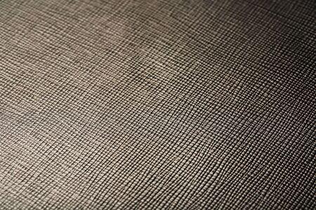 Graues Leder Textur als abstrakten Hintergrund, schönes Texturmuster Vollbild, Ansicht von oben. Graue Lederstruktur, Verwendung für Hintergründe und Designarbeiten