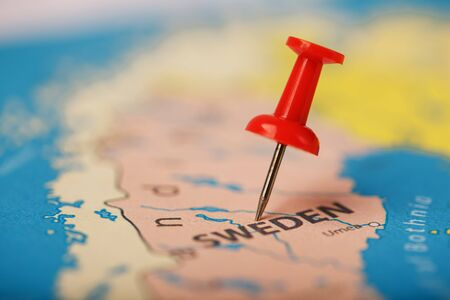 Use the red button to mark the location and coordinates of your destination on the map of the country of Sweden. Concert button indicates the country and city of Sweden