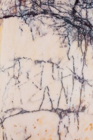Light gray marble with blue cracked stone texture background. Full screen. The ruins of ancient antiquity