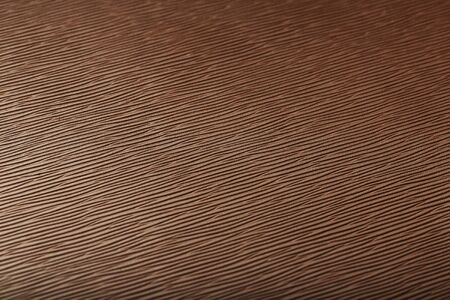 Brown skin texture close up as background. In full screen. The material for the manufacture of leather goods Stockfoto