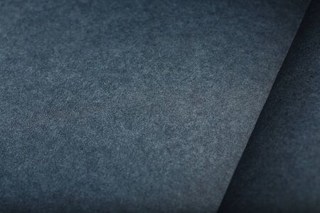 The texture of a black blank page tablet for pastels. Black background of paper texture. As a background for text Banco de Imagens