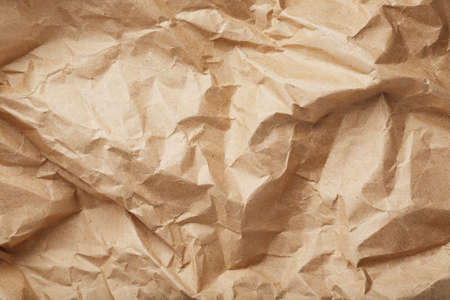 The texture of crumpled packaging paper as an abstract texture background. full screen