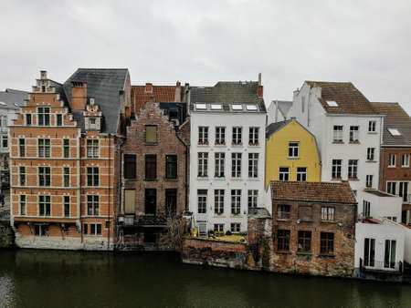 January vacation in Ghent, Belgium. 2019.