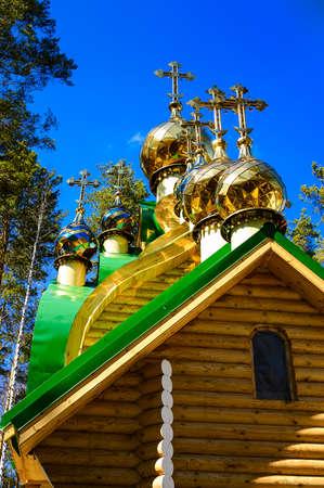 Православная церковь пересекает