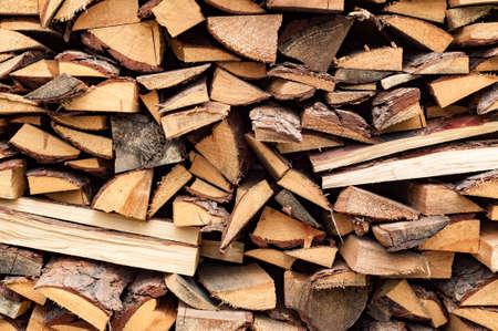 Стек деревянной стены абстрактного фона