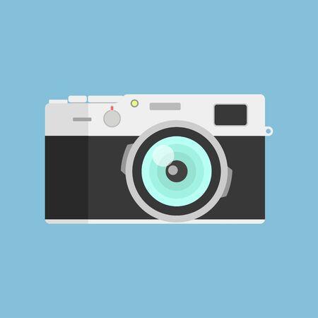 Camera flat design, Icons Vector Set, Creative Design Pictures Иллюстрация