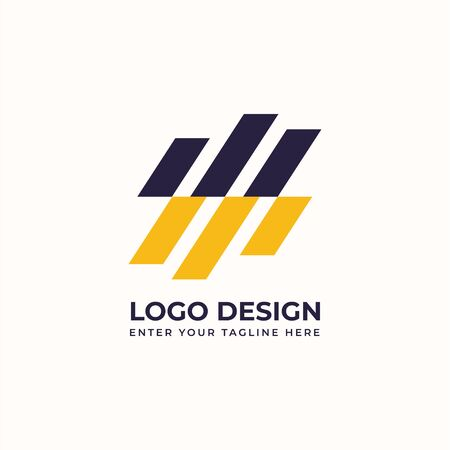 Creative abstract logo vector image for business Иллюстрация