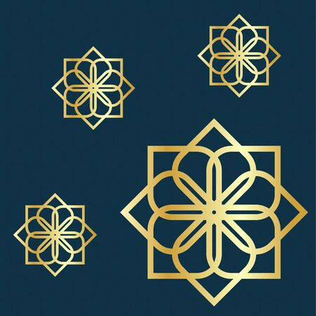 Islamic ornaments pattern vector illustration Banque d'images - 149592334